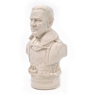 Ernest Shackleton Statuette - Famous Faces Collection Plaster Bust Thumbnail 4