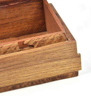 Puffins Secret Marquetry Stash Box with Invisible Opening System 11 x 17cm Thumbnail 5