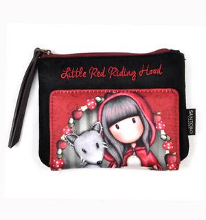 Little Red Riding Hood Bi-Fold Coin Purse Wallet by Gorjuss