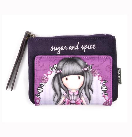 Sugar and Spice Bi-Fold Coin Purse Wallet by Gorjuss