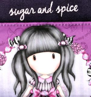 Sugar and Spice Bi-Fold Coin Purse Wallet by Gorjuss Thumbnail 2