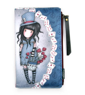 The Hatter Large Wallet by Gorjuss