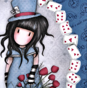 The Hatter Large Wallet by Gorjuss Thumbnail 2