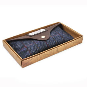 Harris Tweed Blue Allasdale Glasses Case Thumbnail 2
