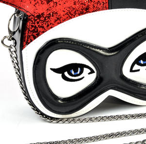 Harley Quinn Masked Menace Suicide Squad Cross Body Bag Thumbnail 2