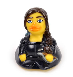 The Hunger Gamebird Rubber Duck - Celebriduck for Hunger Games Katniss Everdeen Jennifer Lawrence Fans Thumbnail 2