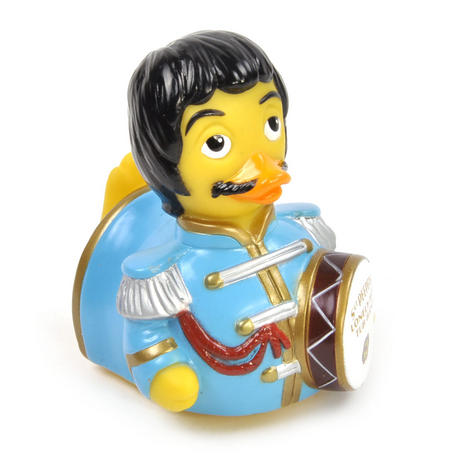 The Sgt Peepers Lonely Hot Tub Band Rubber Duck - Celebriduck for Beatles Sgt Pepper Fans