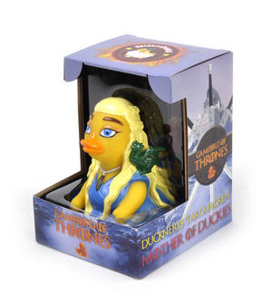 The Ducknerys Tarquacken Gamebird of Thrones Rubber Duck - Celebriduck for Queen Daenerys Targaryen  Game of Thrones Fans Thumbnail 5