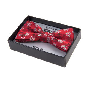 Snowflake Bow Tie by St. George Dresswear - Red Thumbnail 2