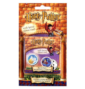 Harry Potter Round Playing Cards with Special Glitter Card Thumbnail 2