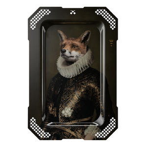Le Renard  - Galerie De Portraits - Surreal Wall Tray Art Masterwork by iBride Thumbnail 1