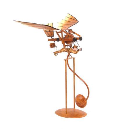 Leonardo Da Vinci Flight Pioneer - Pendulum Weighted Flying Machine