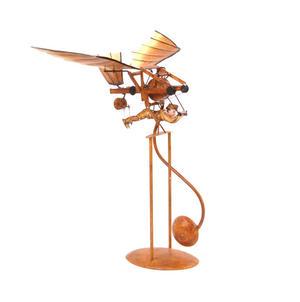 Leonardo Da Vinci Flight Pioneer - Pendulum Weighted Flying Machine Thumbnail 1