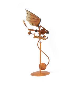 Leonardo Da Vinci Flight Pioneer - Pendulum Weighted Flying Machine Thumbnail 3