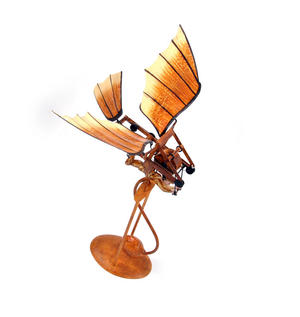 Leonardo Da Vinci Flight Pioneer - Pendulum Weighted Flying Machine Thumbnail 5