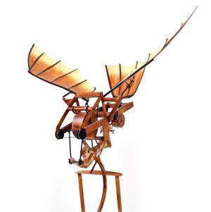 Leonardo Da Vinci Flight Pioneer - Pendulum Weighted Flying Machine Thumbnail 8