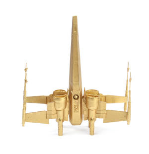 24k Gold Star Wars X Wing Fighter - Limited Edition by Royal Selangor Thumbnail 6