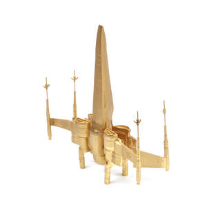 24k Gold Star Wars X Wing Fighter - Limited Edition by Royal Selangor Thumbnail 7