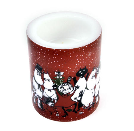 Winter Magic 12cm Moomin Candle