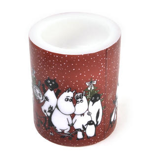 Winter Magic 12cm Moomin Candle Thumbnail 3