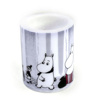 Winter Trip 12cm Moomin Candle Thumbnail 4