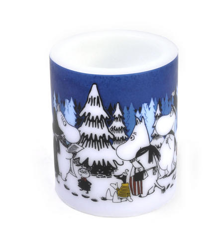 Winter Forest 12cm Moomin Candle