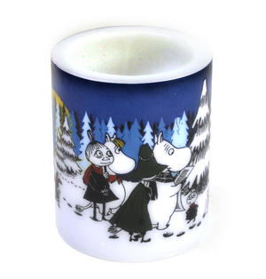 Winter Forest 12cm Moomin Candle Thumbnail 2