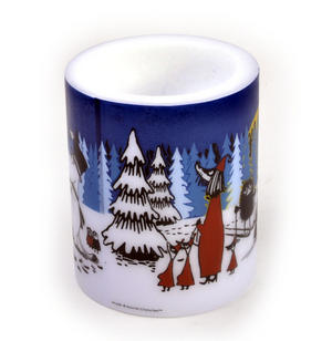 Winter Forest 12cm Moomin Candle Thumbnail 4
