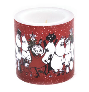Winter Magic 8cm Moomin Candle Thumbnail 2