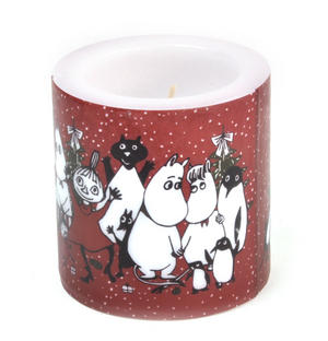 Winter Magic 8cm Moomin Candle Thumbnail 3