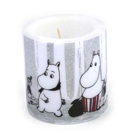 Winter Trip 8cm Moomin Candle