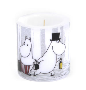 Winter Trip 8cm Moomin Candle Thumbnail 3