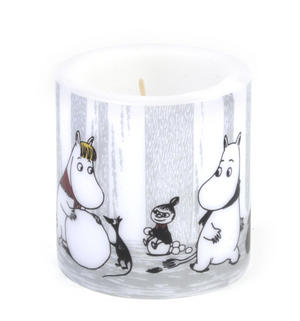 Winter Trip 8cm Moomin Candle Thumbnail 4