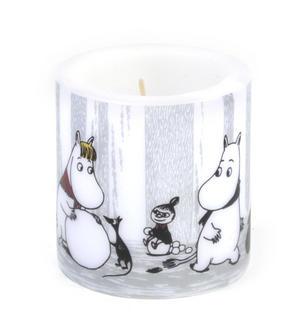 Winter Trip 8cm Moomin Candle Thumbnail 4