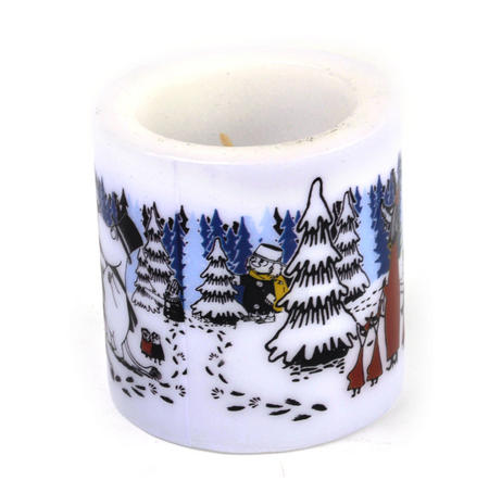 Winter Forest 8cm Moomin Candle