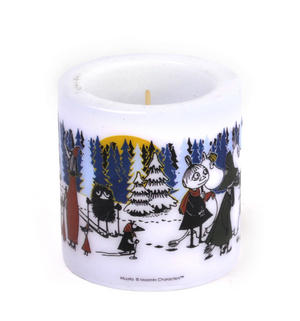 Winter Forest 8cm Moomin Candle Thumbnail 2