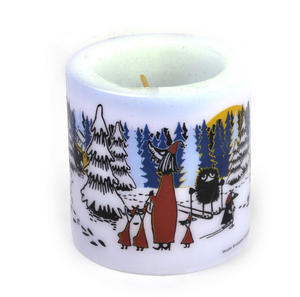 Winter Forest 8cm Moomin Candle Thumbnail 3