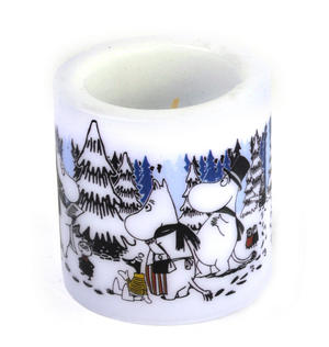 Winter Forest 8cm Moomin Candle Thumbnail 4