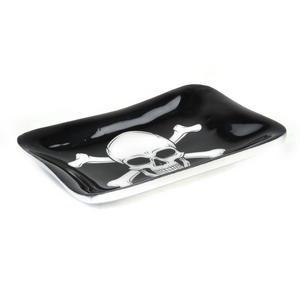 Pirate Skull and Crossbones Ceramic Trinket Tray Thumbnail 4