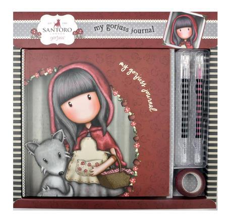 Little Red Riding Hood - Gorjuss Lockable Notebook Set