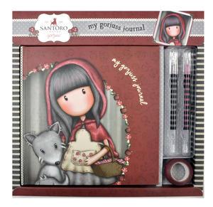 Little Red Riding Hood - Gorjuss Lockable Notebook Set Thumbnail 1