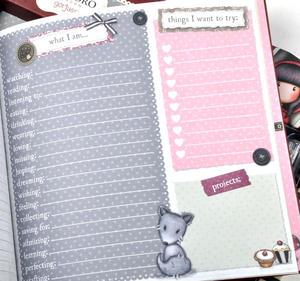 Little Red Riding Hood - Gorjuss Lockable Notebook Set Thumbnail 3