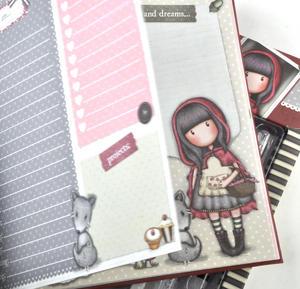 Little Red Riding Hood - Gorjuss Lockable Notebook Set Thumbnail 4