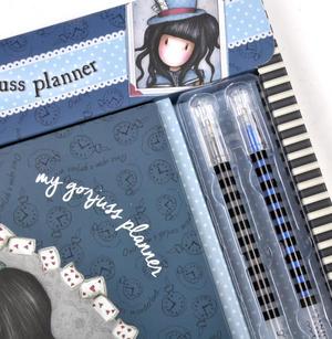The Hatter - Gorjuss Lockable Notebook Set Thumbnail 3