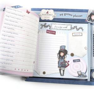 The Hatter - Gorjuss Lockable Notebook Set Thumbnail 5