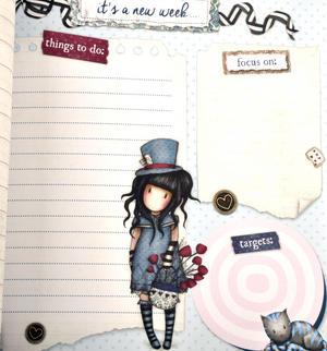 The Hatter - Gorjuss Lockable Notebook Set Thumbnail 7