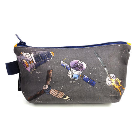 Space Flight Bag Pencil Case/ Cosmetics & Make Up Case