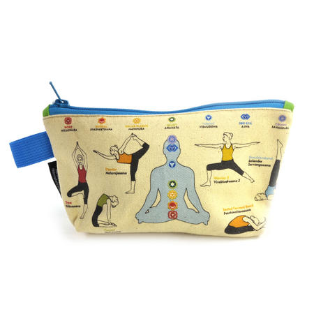 Yoga Pencil Case/ Cosmetics & Make Up Case