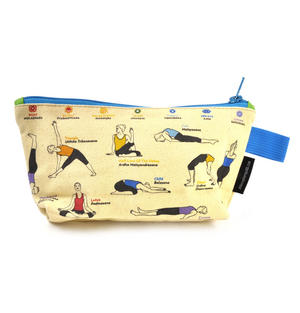 Yoga Pencil Case/ Cosmetics & Make Up Case Thumbnail 2