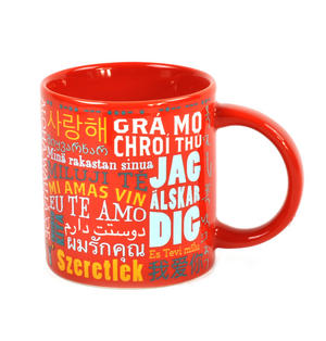 I Love You in 40 Languages Mug